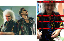 """BRIAN MAY signed """"QUEEN"""" 8X10 Photo - PROOF - WE WILL ROCK YOU Guitarist COA"""