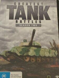 Greatest Tank Battles Season Two DVD Like New