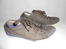 Mens CAT grey leather trainers  UK7 EU41