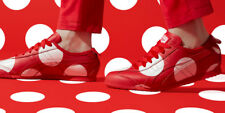 NEW - ONITSUKA TIGER MEXICO 66 Women's 'MINNIE MOUSE' Red/ White SHOES -9M/42.5