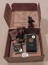1996 Boyds Bears Uncle Elliot bear & bearstone, pin & tatoo F.O.B. MEMBER KIT