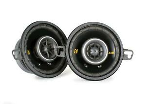 Kicker CSC35 CSC354 8,7 cm 2-Wege-Lautsprecher 90 Watt RMS: 30 Watt