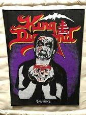 King Diamond Conspiracy woven BACKPATCH gewebter Patch Judas Priest Iron Maiden