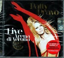 PATTY PRAVO LIVE ARENA DI VERONA + BRANO SANREMO 2009  DOPPIO CD SIGILLATO