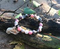 Jade Opal Turmalin Stoffwechsel Harmonie Stärke Abnehmen Gesundheitsarmband