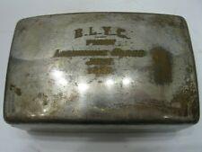 1955 Dodge INC Buckeye Lake Yacht Club Lightning Class Box Silver Plate Brass