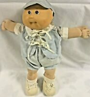 Cabbage Patch Kids 1985 One Tooth Dimples Bald CPK Outfit Coleco