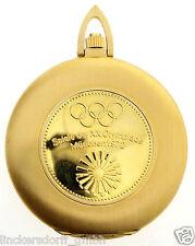 Longines Flagship orologio da tasca-ref 4008 in 18ct Gold-OLYMPIA 1972 Monaco