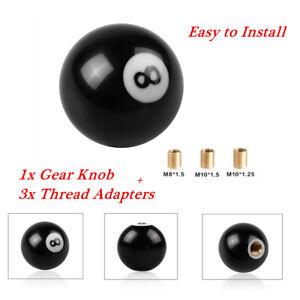 1Set 8 Billiard Ball Car Gear Shift Knob Shifter Lever Universal For MT AT Part