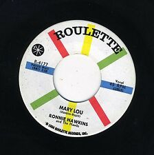 Ronnie Hawkins ~45~ Mary Lou / Need Your Lovin' ~ Roulette 4177 ~ M-