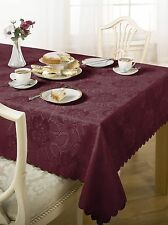100% Polyester Square Tablecloths