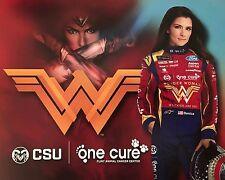 "2017 DANICA PATRICK ""WONDER WOMAN ONE CURE"" #10 MONSTER ENERGY NASCAR POSTCARD"