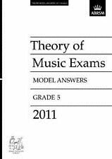 Theory Of Music Exams Model Answers 2011 Grade 5 ABRSM  Book S126