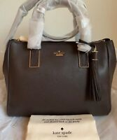 NWT Kate Spade Kingston Drive Alena Leather Satchel Bag $398 PXRU7941 Original P