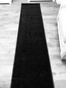 New Value Twist Runner Ebony Black 600x60cm