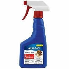 Adams Flea and Tick Spray for Dogs Puppies and Cats Kills Fleas Flea Larvae Eggs