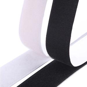 Scratch Bande Adhésif Autocollant Agrippant longueur 50 cm blanc ou noir