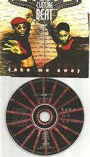 CULTURE BEAT Take me Away 7TRX EDIT & MIXES & ACAPELA CD Single SEALED USA SELER