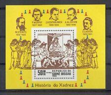 Guinea-Bissau - 1983 - Mi. Blok 250 (Schaken) - Postfris - E315