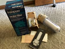 NOS 1980s Instapure Whole House Water Filter IF-20 Teledyne Water Pilc Vintage