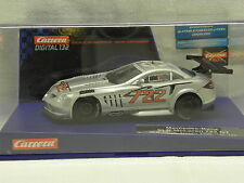 Carrera 30484 Digital132 Slot Car Mercedes-Benz SLR McLaren 722 GT Trophy 2008