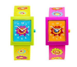 Tatiri Watch Hot Pink Analogue Hearts Time Wrist Girls Boys Fashion Children