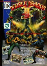 Double Dragon III The Rosetta Stone 1991 Magazine Advert #5634