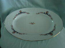 BEAUTIFUL ROYAL VIENNA COLLECTION MENUET PORCELAIN OVAL PLATTER (POLAND)
