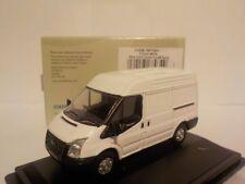 New Ford Transit - Medium Roof - Frozen White. Oxford Diecast Model Car. 1/76 Du