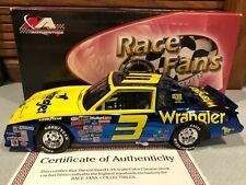 Action Color Chrome finish 1984 Dale Earnhardt #3 Wrangler 1/24 1 of 661
