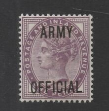 O43. 1d Lilac. ARMY OFFICIAL. Superb unmounted mint example! FREEPOST!