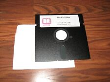 """The Civil War for Apple II on 5.25"""" disk - Tested"""
