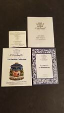 The DerEvo Collection Seagull Santa Certificate Of Authenticity And Brochure