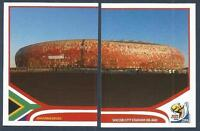PANINI-SOUTH AFRICA 2010 WORLD CUP- #012-#013-JOHANNESBURG-SOCCER CITY STADIUM