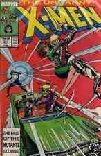 X-MEN UNCANNY-AMERICANO-N°224-MARVEL COMICS