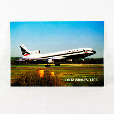 NEW Delta Airlines - Lockheed L1011 Tristar - Aircraft Postcard - Top Quality