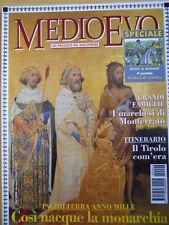 Medioevo n°2 1999 - Inghilterra anno 1000 cosi nacque la Monarchia  [C46A]