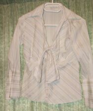 Striped shirt top white size 12. By GEORGE check the exact size in description