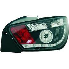 Coppia fari fanali posteriori TUNING SEAT IBIZA 08- 3 porte trasparente nero led