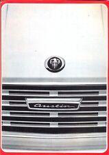 Austin Mini 1100 1300 Mk II Maxi 1500 1800 Mk II German market sales brochure