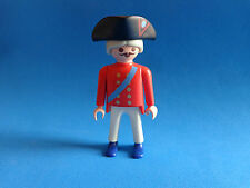 Playmobil - Soldat anglais red coat frock soldier english soldier Soldado ingles