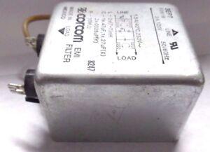 Filtro di Rete Noise filter Corcom 3EP7 F2819 120V 3A 250V 1.5A