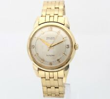 Vintage GRUEN Automatic 34mm 14K Solid Yellow Gold Twenty-Three 66.0 grams Watch