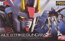 RG 1/144 Mobile Suit Gundam SEED GAT-X105 Aile Strike Gundam Plastic Model B...