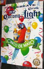 Corona Extra Beer / Cinco De Mayo 65 Years Of Brewing Poster Man Cave