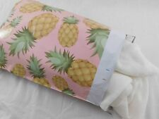 25 10x13 Designer Pineapple Mailer Poly Shipping Envelope Boutique Hawaiian Bag
