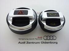 Original Audi R8 Tapón de Llenado para Depósito de Refrigerante + Tapa de Aceite