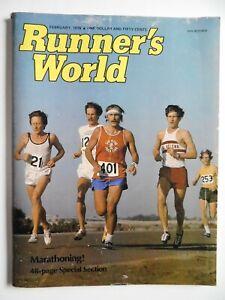 1976 Runners World Feb MARATHON SPECIAL Track Field Athletics Bill Rodgers