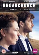 Broadchurch (DVD, 2013, 3-Disc Set) new and sealed