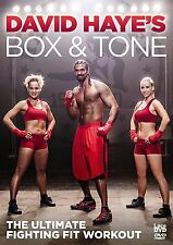 DAVID HAYES BOX AND TONE - DVD - NEW SEALED -KEEP FIT WORKOUT